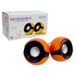 EXBOM CS-69 CAIXA DE SOM 2.0 PARA PC