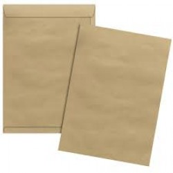 *ENVELOPE KRAFT NATURAL 229X324 80G C/2