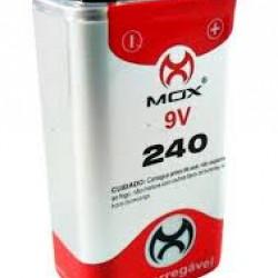 BATERIA 9V RECARREGAVEL MOX MO9V240