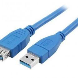 CABO USB (M) / USB (F) EXTENSOR 3.0 - 1,8M - XC-USB-M/F-01