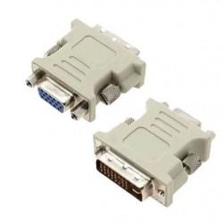 ADAPT. DVI-I (M) X VGA (F)15 PINOS GELO (+2 PINOS)