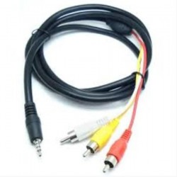 CABO P3 / 3 RCA AUDIO VIDEO-1,8M / 3,5MM - OCP