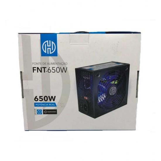FONTE PARA COMPUTADOR FNT-650W HOOPSON