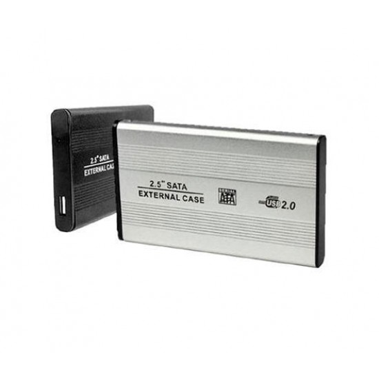 CASE HD 2.5 / USB 2.0 SATA SLIM EXT. ALUMIN - H2501