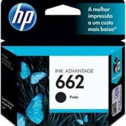 CARTUCHO 662 PRETO - HP