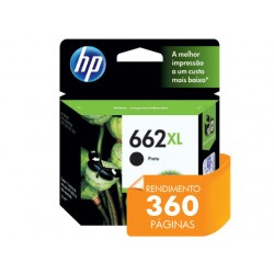 CARTUCHO 662XL PRETO  6.5 ML HP
