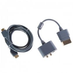 CABO XBOX  HDMI + CONVERSOR DE AUDIO DIGITAL E AUD
