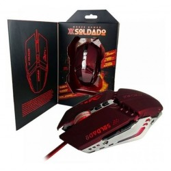 INFOKIT  GM-705 MOUSE GAMER USB COM ILUMINACAO LED RGB
