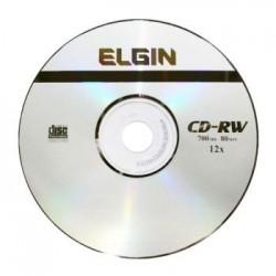 BLANK DISCOS PARA SISTEMA DE LEITURA POR RAIOS LASER COM POSSIBILIDADE DE SEREM GRAVADOS CD ELGIN