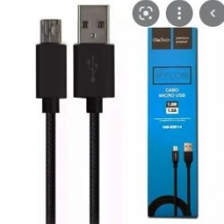 CABO USB / V8 - 2M / 2,4 NYLON -JWCOM