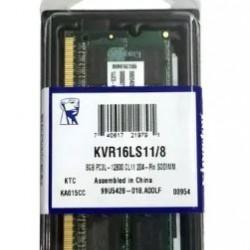 MEMORIA DDR3 8GB / 1600 MHZ(12800) P/NOTE - KINGSTON
