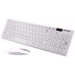 TECLADO WIRELESS MINI SLIM + CAPA SILIC- MOUSE K-03