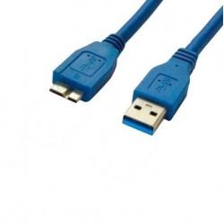CABO USB 3.0 P/ HD EXTERNO- 1M
