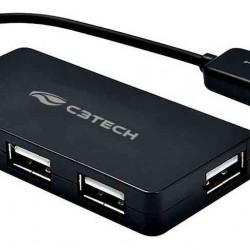 HUB USB 2.0 4 PORTAS HU-220BK C3T
