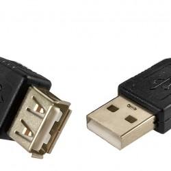 CABO EXTENSOR USB (M) X USB (F) 2.0 C/ FILTRO 5M