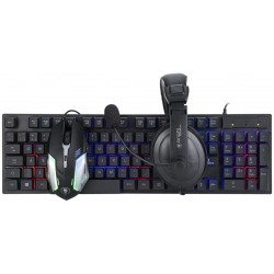 COMBO GAMER MOUSE + TECLADO + HEADSET BRIGHT CB02 TMH