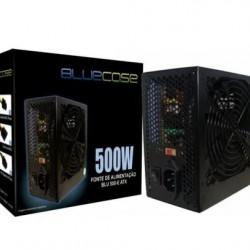FONTE ATX 500W SATA2 C CABO 110/220V BLUECASE