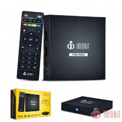 SMART TV BOX QUAD-CORE 2G/ 16GB 4K HDMI WIFI  ANDROIDE 6.0
