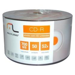 CDR MULTILASER CLOGO PK 50 UNID CX600