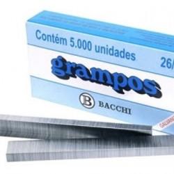 GRAMPO 26/6 CX C/5000 GALV PRATA BACCHI