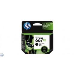 CARTUCHO HP 667XL PRETO 3YM81AL
