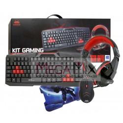 KIT TECLADO COM MOUSE PARA COMPUTADORES REF: KP-2061