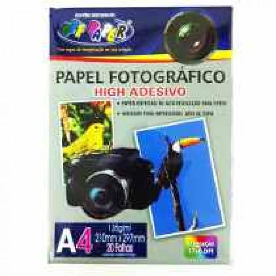 PAPEL FOTOGRAFICO ADESIVO A4 135G 20 FLS  OFF PAP