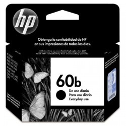 CARTUCHO 60B PRETO - 4,5ML- HP