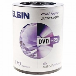 DVD+R DL ELGIN PRINT UMEDISC  8.5GB 240M PK100
