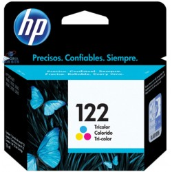 CARTUCHO 122 COLOR -  1,5ML- HP