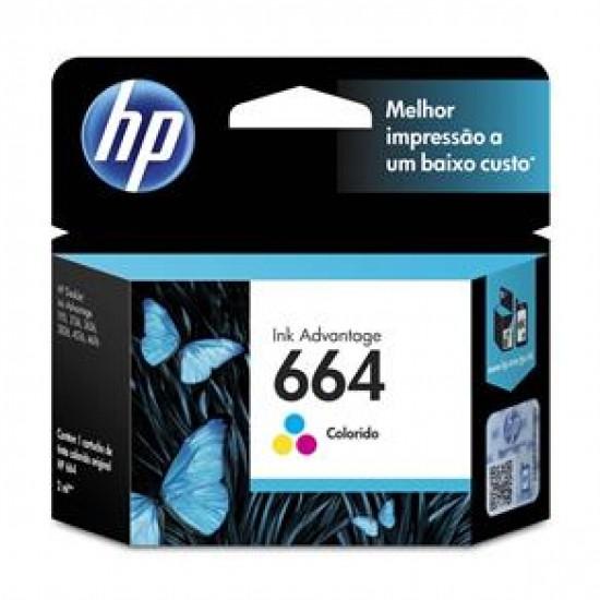 CARTUCHO HP F6V28AB N664 TRICOLOR