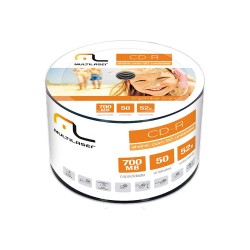 CD-R 52X A GRADE PRINTABLE WHITE 50 PCS PER SPINDL