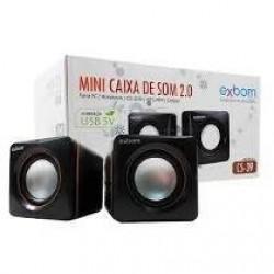 EXBOM CS-39 CAIXA DE SOM 2.0 PARA PC KNUP KP-600