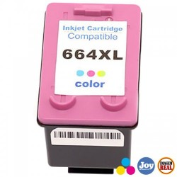 CART TINTA HP 664XL COLOR 2136 2676 3776 5076 5276