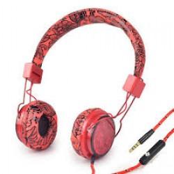 F100 HEADFONE COM CABO REVESTIDO E MICROFONE PARA